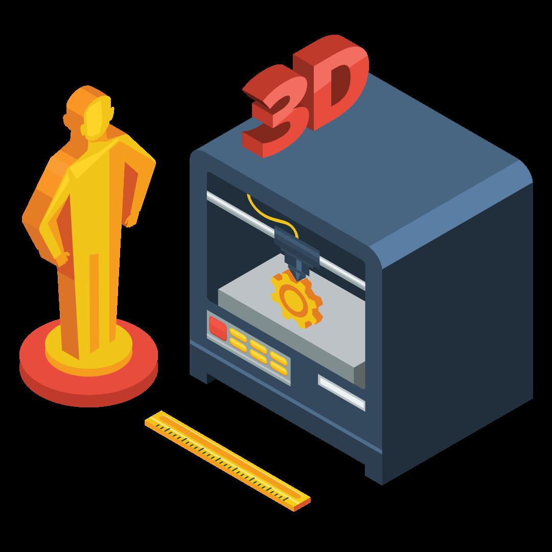 rendering servizi di progettazione e stampa 3d